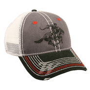 Winchester Grey and Black Mesh Back Hat at Kmart.com