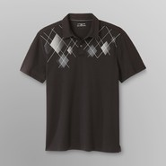 Attention Men's Polo Shirt - Argyle at Kmart.com