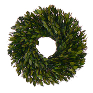 The Christmas Tree Company 18 Inch Evergreen Myrtle Dried Floral Wreath at Kmart.com
