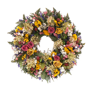 The Christmas Tree Company 18 Inch Petals and Pomes Dried Floral Wreath at Kmart.com