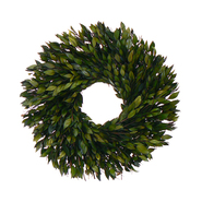 The Christmas Tree Company 16 Inch Evergreen Myrtle Dried Floral Wreath at Kmart.com