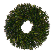 The Christmas Tree Company 22 Inch Evergreen Myrtle Dried Floral Wreath at Kmart.com