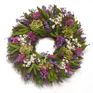 The Christmas Tree Company 16 Inch Cheerful Spring Dried Floral Heart Wreath at Kmart.com