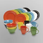 Essential Home 16-Piece Solid Color Dinnerware Set - Round at Kmart.com