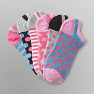 Joe Boxer 6-Pack Women's No-Show Socks - Assorted Prints at Sears.com