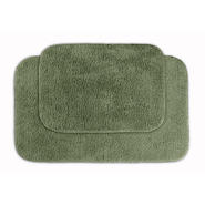 Garland Rug Glamor Nylon Washable Bathroom 2 Piece Rug Set Deep Fern at Kmart.com