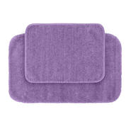 Garland Rug Traditional Nylon Washable Bathroom 2 Piece Rug Set Purple at Kmart.com