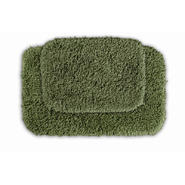 Garland Rug Serendipity Shaggy Washable Nylon Bathroom 2 Piece Rug Set Deep Fern at Kmart.com