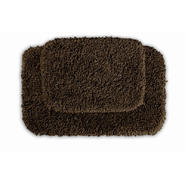 Garland Rug Serendipity Shaggy Washable Nylon Bathroom 2 Piece Rug Set Chocolate at Kmart.com