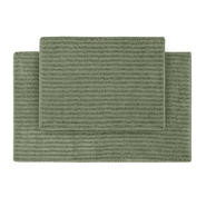 Garland Rug Sheridan Nylon Washable Bathroom 2 Piece Rug Set Deep Fern at Kmart.com