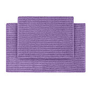 Garland Rug Sheridan Nylon Washable Bathroom 2 Piece Rug Set Purple at Kmart.com