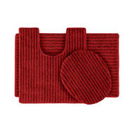 Garland Rug Sheridan Nylon Washable Bathroom 3 Piece Rug Set Chili Pepper Red at Kmart.com