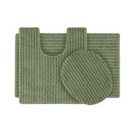 Garland Rug Sheridan Nylon Washable Bathroom 3 Piece Rug Set Deep Fern at Kmart.com