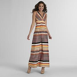 Metaphor Women's Maxi Dress - Striped at Sears.com