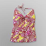Joe Boxer Junior's Plus Tankini Top - Animal Print at Kmart.com