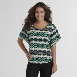 Attention Women's Poncho Top - Tribal at Kmart.com