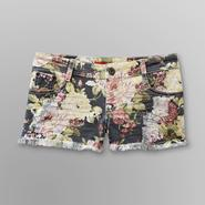 Bongo Junior's Distressed Denim Shorts - Floral at Kmart.com