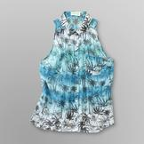 Dream Out Loud by Selena Gomez Junior's Sleeveless Shirt - Palm Print at mygofer.com