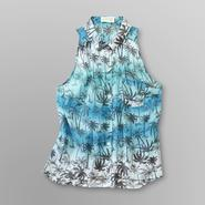 Dream Out Loud by Selena Gomez Junior's Sleeveless Shirt - Palm Print at Kmart.com