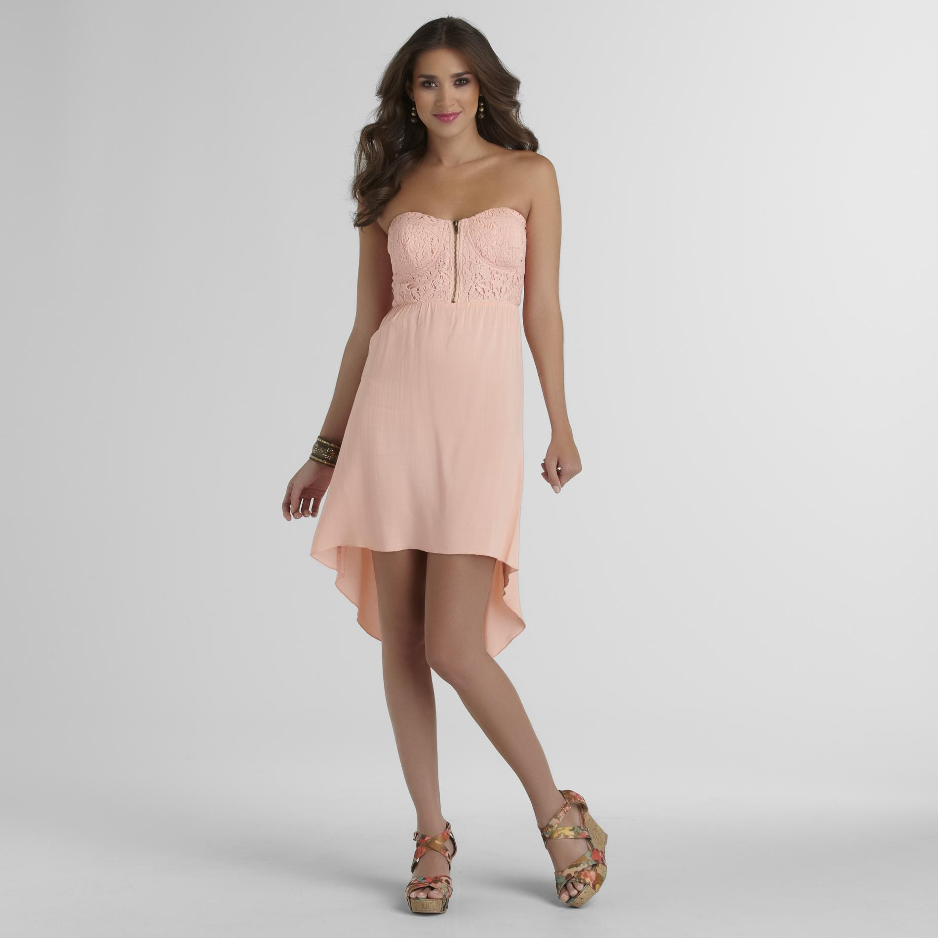 New Look Junior's Strapless Dress at Sears.com
