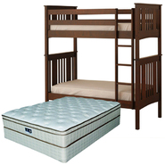 Canwood Base CampBunk Bed with Mattress Bundle at Sears.com
