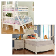 Oxford Creek Bunk Bed with Mattress Bundle at Sears.com