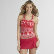 Jaclyn Smith Women's Tankini Top - Tribal Stripes at Kmart.com