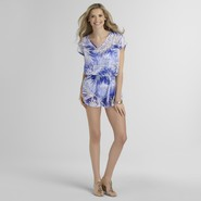 Jaclyn Smith Women's Swimsuit Cover-Up - Palm Leaf at Kmart.com