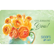Celebrate Your Gift Card at Sears.com