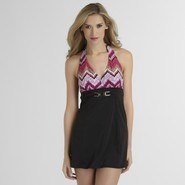 Jaclyn Smith Women's Swim Dress - Chevron at Kmart.com