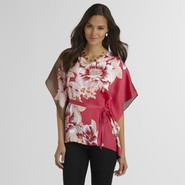 Jaclyn Smith Women's Scarf Top - Floral at Kmart.com