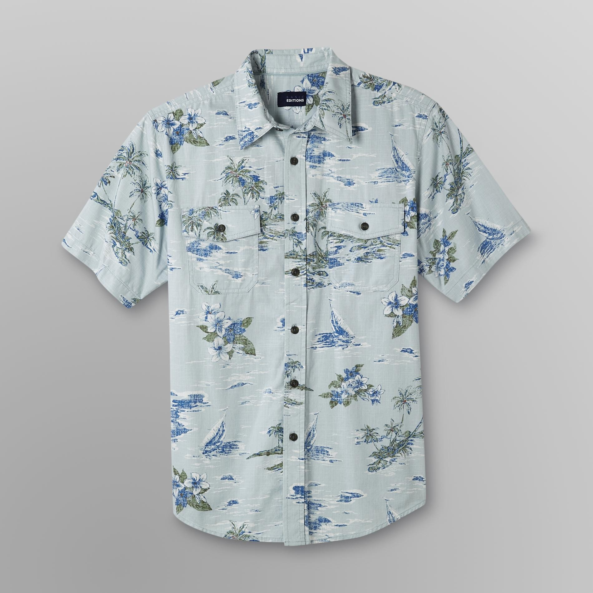 Basic Editions Men's Print Crosshatch - Tropical at Kmart.com
