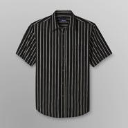 Basic Editions Men's Short-Sleeve Shirt - Striped at Kmart.com