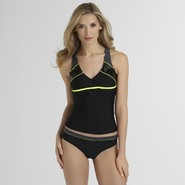 Athletech Women's Half-Zip Tankini Top at Kmart.com
