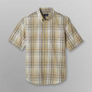 Basic Editions Men's Short-Sleeve Shirt - Plaid at Kmart.com