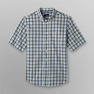 Basic Editions Men's Big & Tall Short-Sleeve Shirt - Plaid at Kmart.com