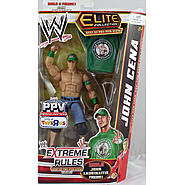 WWE John Cena (Green - Extreme Rules 2012) - WWE Best Of Pay Per View Elite Exclusive Toy Wrestling Action Figure at Kmart.com
