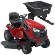 Craftman Turn Tight 21-HP Yard Tractor & 12.5-Cu. Ft. Poly Cart Bundle at Sears.com