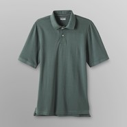 Basic Editions Men's Big & Tall Pique Polo Shirt at Kmart.com