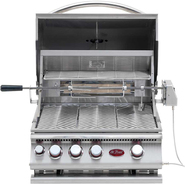 Cal Flame 3-Burner Built-in Gas Grill with Infrared Rotisserie at Kmart.com