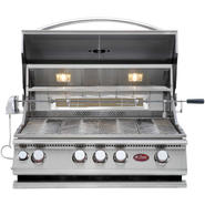 Cal Flame 4-Burner Stainless Steel Convection Grill with Rotisserie at Sears.com