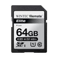 FILEMATE Wintec Filemate Elite  64GB UHS-I U1 SDXC C10 Card   (R: 95MB/s W: 50MB/s) at Kmart.com