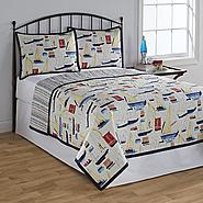 Quilt, Shams & Tote - Brighton at Kmart.com