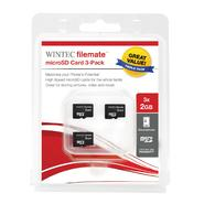 FILEMATE Wintec FileMate   6GB (3 x2GB) microSDHC Card at Kmart.com