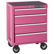 Craftsman 4-Drawer Ball-Bearing Bottom Chest - Pink at Sears.com