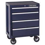 Craftsman 4-Drawer Ball-Bearing Bottom Chest - Midnight Blue at Sears.com