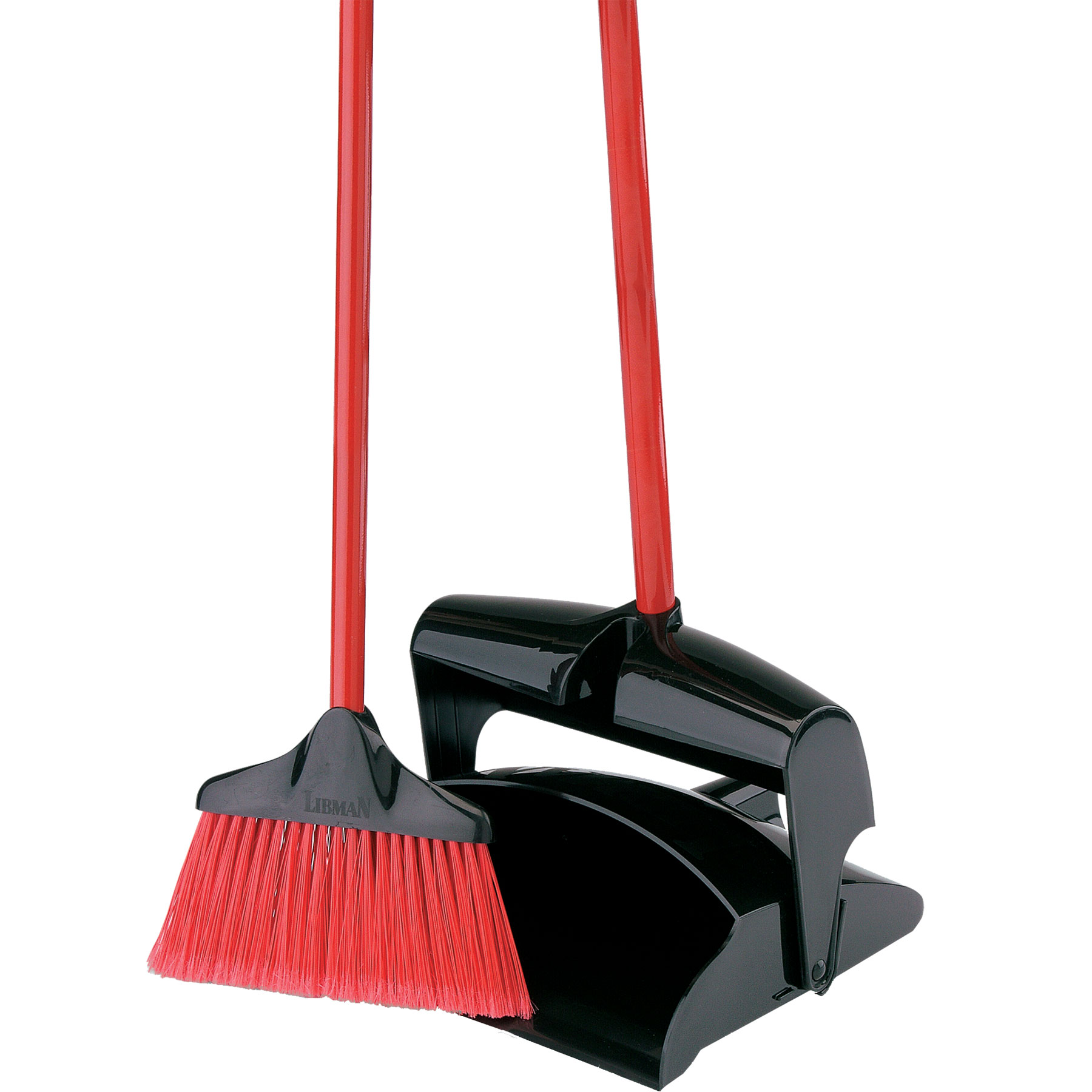 libman lobby broom dust pan closed lid food grocery cleaning supplies brooms mops. Black Bedroom Furniture Sets. Home Design Ideas