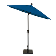MiYu Furniture 7.5 Foot Autotilt Market Umbrella with Black Frame - Assorted Fabric Colors at Kmart.com