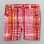 WonderKids Infant & Toddler Girl's Bermuda Shorts - Plaid at Kmart.com