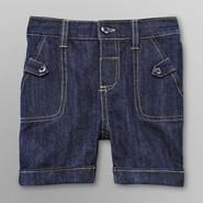 WonderKids Infant & Toddler Girl's Denim Bermuda Shorts at Kmart.com